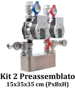 Kit 2 Preassemblato