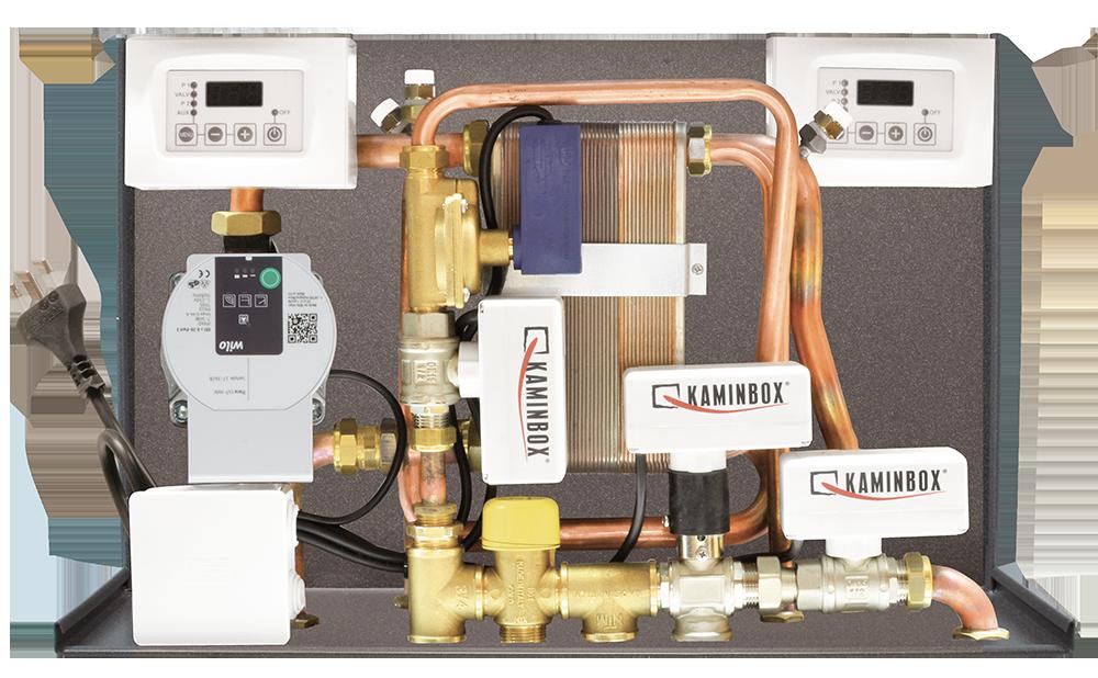 Pannello Solare A Gas : Kit solart interfaccia generatore di calore con caldaia
